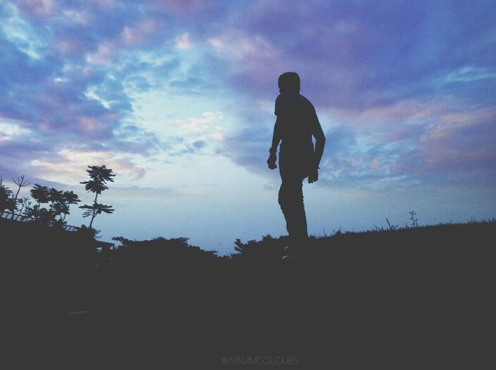 A great evening with good poser..Silhouette Sky_ Collection Skylovers Silhouette_collection
