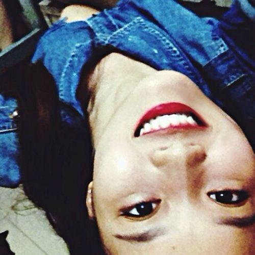 Selfie ✌ Upside Down Smilee♡