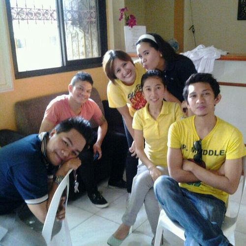 Hanging Out#yellow#barista