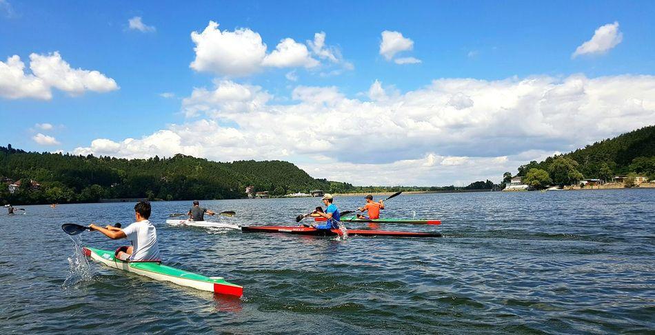 Galaxy S7 Edge EyeEm Best Shots PhonePhotography Sky And Clouds S7 Edge Photography Kayaking Be Active Kayak Water Sports Eyeemphoto