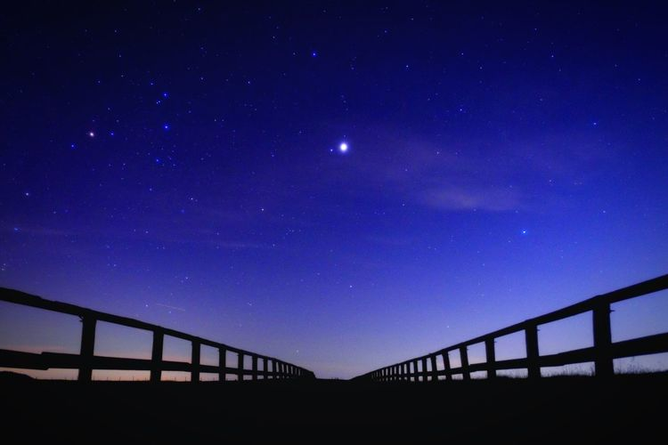 EyeEm Best Shots - Nature EyeEm Nature Lover Fujifilm XF16mmF1.4 Xpro1 Sky Space Astronomy Star - Space Night Connection Bridge Nature Galaxy No People