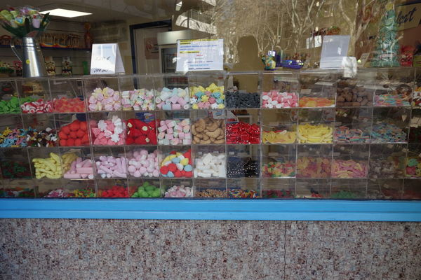 Candy Display Shop Store Variation