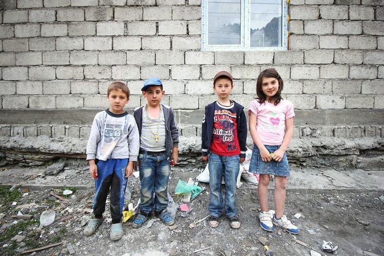 Children of Kazbegi. Caucasus Children's Portraits Children Of The World GeorgiaThe Photojournalist - 2015 EyeEm Awards The Street Photographer - 2015 EyeEm Awards
