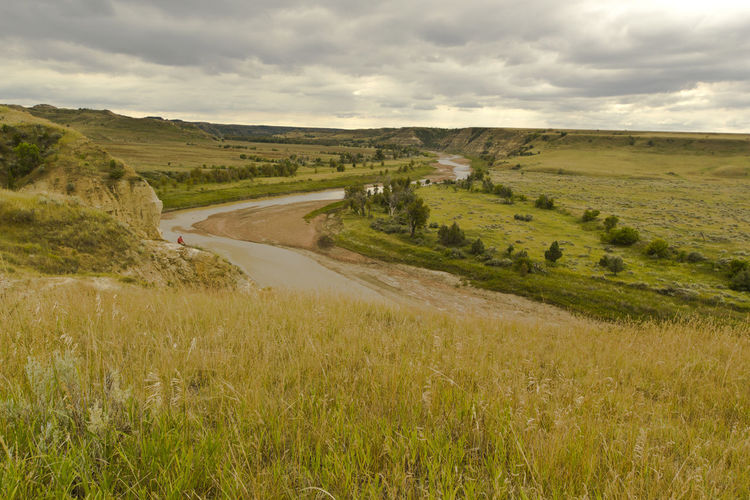 Beauty In Nature Countryside Landscape Nature Outdoors Scenics Sky The Great Outdoors - 2016 EyeEm Awards The Great Outdoors With Adobe Theodore Roosevelt National Park Missouri River North Dakota North Dakota Badlands Travel Nature's Diversities The Essence Of Summer Feel The Journey