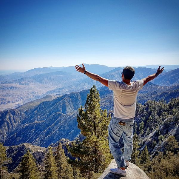 Palm Springs. Mountains Freedom Palm Springs CA. Nature Like A Bird Rocks Height Photography Finding New Frontiers On The Edge Top Of The World Long Goodbye Sommergefühle The Week On EyeEm Perspectives On Nature