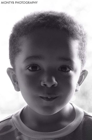 Black & White Montybphotography Portrait my little nephew! :)