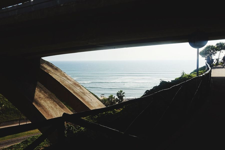Sea Horizon Over Water Water Built Structure Day Nature Architecture Scenics Bridge - Man Made Structure No People Beauty In Nature Sky Beach Outdoors EyeEmNewHere