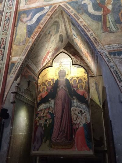 Duomo E Cappella Di San Brizio Religion Spirituality Place Of Worship No People Frescoes Indoors  Fresco Paintings Architecture And Art History Umbria_italia Umbria, Italy Umbria Italy🇮🇹