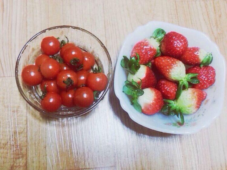 Strwberry Tomato I'm Hungry  Food ㅠㅠㅠㅠ배그파..!!!! 배구파서 겅부도 앙대 는 핑계