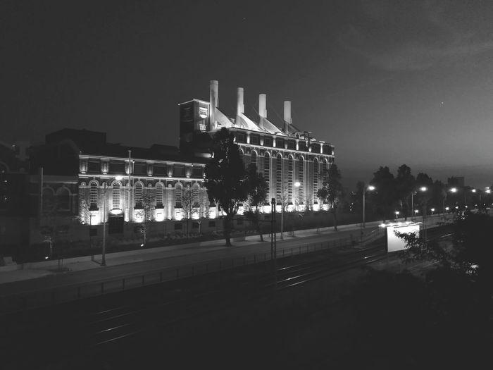 Night in black