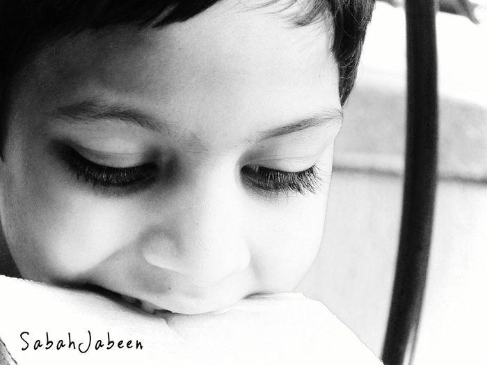Kidsphotography Blackandwhite Photography Boy Closeup Closeupshot LoveBlackandwhite People Photography Taking Photos Child