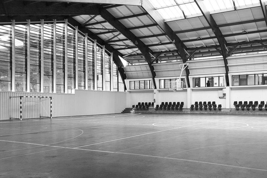 Architecture Blackandwhite Built Structure City Life España🇪🇸 Interior No People Sports Center Vitoria