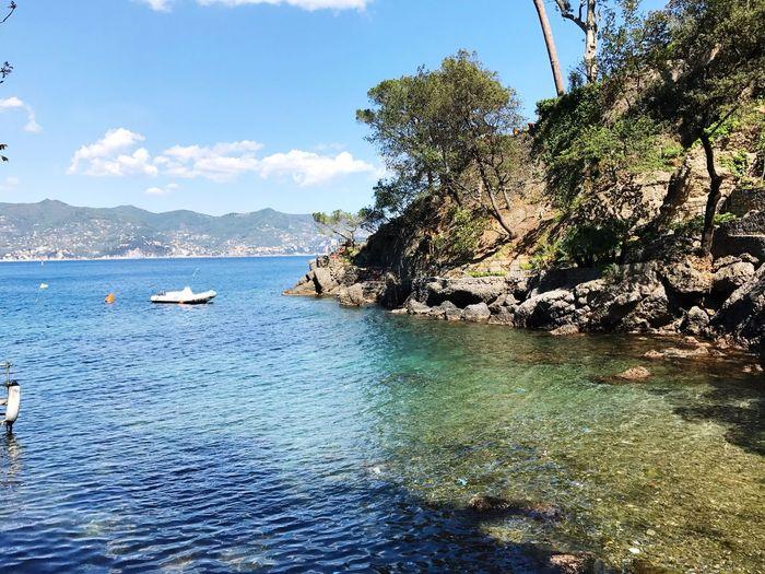 It's paradise Sea Water Nature Traveling Italian Riviera Italy❤️