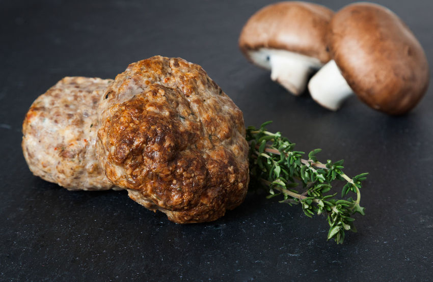 Fresh made meatballs Ground Meat Meatballs Snack Butcher's Trade Butchery Food Food And Drink Freshness Meat Mince Mincemeat Nutrition Slab Of Slate Slate