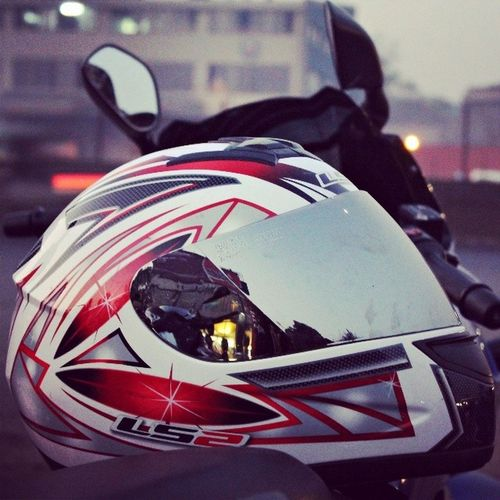 Ls2 Helmet Safety Tinted Cool Ride Bike_riders_mumbai BRM