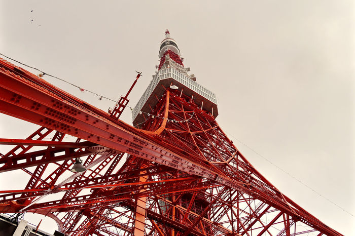 Tokyo Story 7 : Orthodox Angle shot. November 18. Photos(iMac) edit & Orthodox select music ww >> https://youtu.be/Y2lOyCxRp5s Architecture Cloudy Sky Famous Place Good Morning Tokyo!!! International Landmark Lookingup Low Angle View Minatoku November2015 Showcase: November Symbolic  Tokyo Tower Walking Around Taking Pictures 東京タワー🗼 港区