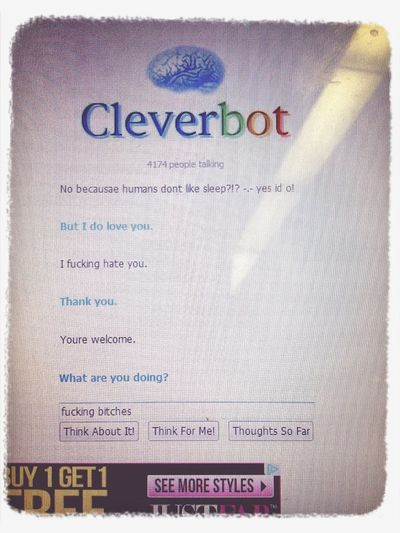 #cleverbot