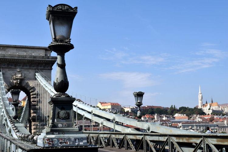 Architecture Bridge Budapest City Hungary