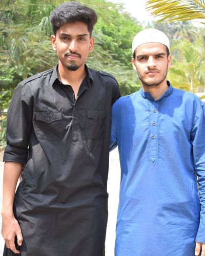 ethnic day College Engineering Brotherhood Bro EyeEm Selects Men Portrait Togetherness Tree Front View Beard Standing Looking At Camera Casual Clothing Friend Male Friendship Only Young Men Hands In Pockets