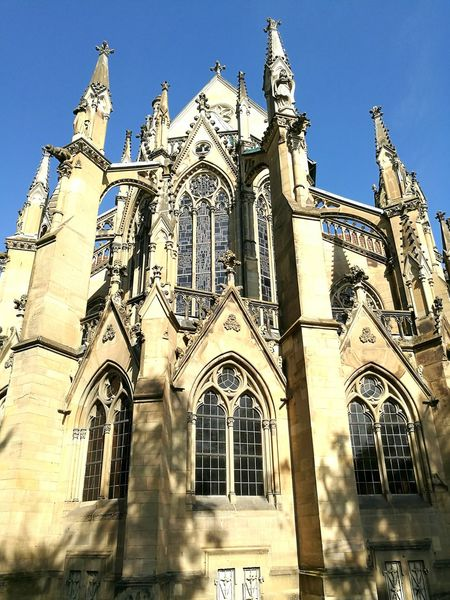The Johannes church in the morning sun. Religion History Spirituality Church Gothic Cathedral Stuttgartsmartphonephotographer Neogothic Neoghotic Architectural Photography Stuttgart Architecturephotography Néogothique Taking Photos Stuttgartmobilephotographers Cathedral