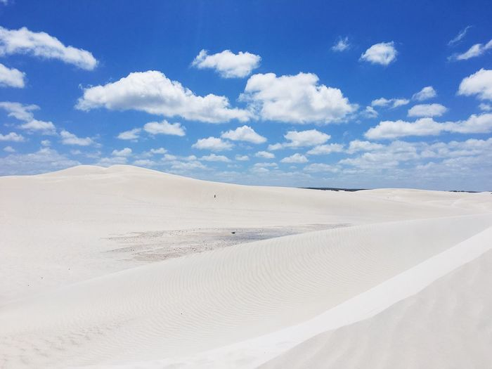 Landscape Sand Nature Tranquility Tranquil Scene Scenics Sky Cloud - Sky Sand Dune Beauty In Nature Landscape Desert Arid Climate Day Outdoors No People Salt Flat Blue Perth Australia Australian Landscape