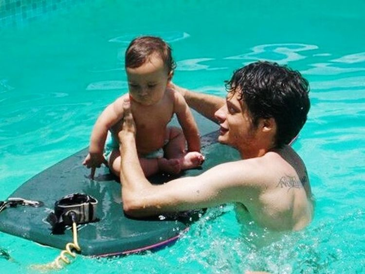 Surfing com Papai, Feliznatal Churras Piscina Casadatia Loui