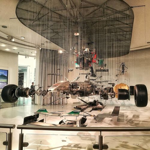 Mercedes Mercedes-Benz AMG AMG Power F1 Car View Suspended