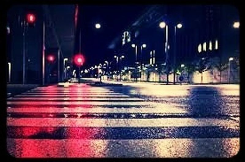 Street Lights After It Rains ☔