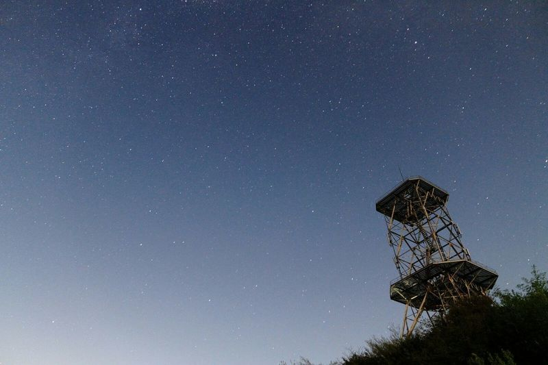 Starry Sky Radiotower 鉄塔♡Love Nightphotography