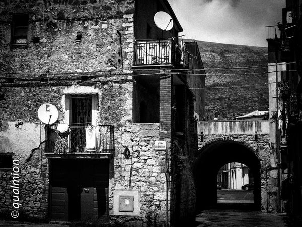 #urbanana: The Urban Playground Ancient City Cobblestone Streets Footpath Street View View Arch Architecture Black And White Building Exterior Cobblestone Nature Old Buildings Old City Outdoors Perpective Stone Stone Material Street The Past The Way Forward Town Urban Wall - Building Feature