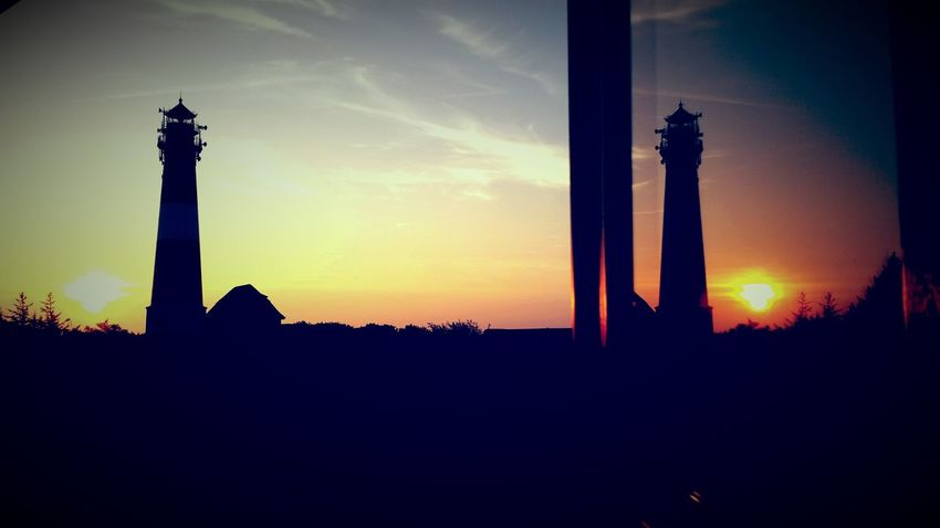 The View From My Window Lighthouse Sunrise_Collection Hello World