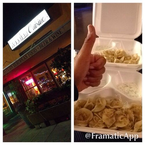 Nothin' like some Russian takeout to finish off the evening. Pelmeni Russian Food Georgian Food