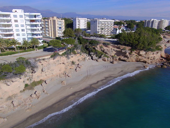 Drone  Miami Platja- Tarragona- Architecture Beach Beauty In Nature Building Exterior City Day Drone Photography No People Outdoors Sand Sea Sky Turistic Places Water
