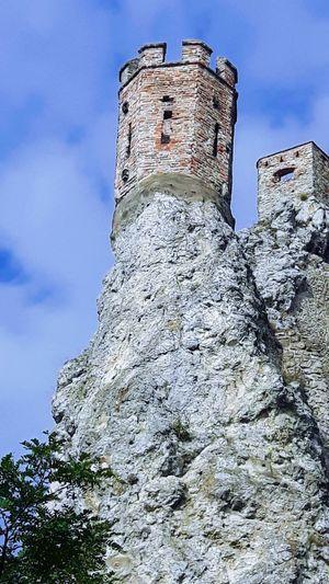 Tower Castle Ruins Devin Castle Slovakia