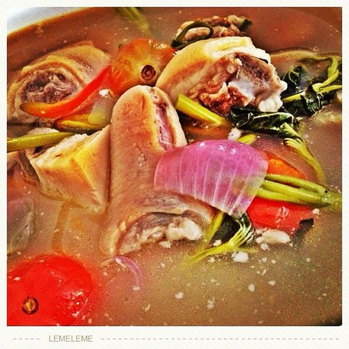 Today's Lunch. —Pork Sinigang Lunch Foodpic Htcphilippines Hornyfood photooftheday foodporn htc homecooking koronadalcity hdrphotography pork htc bestoftheday home leme hdr sinigang porksinigang igersiloilo iloilocity