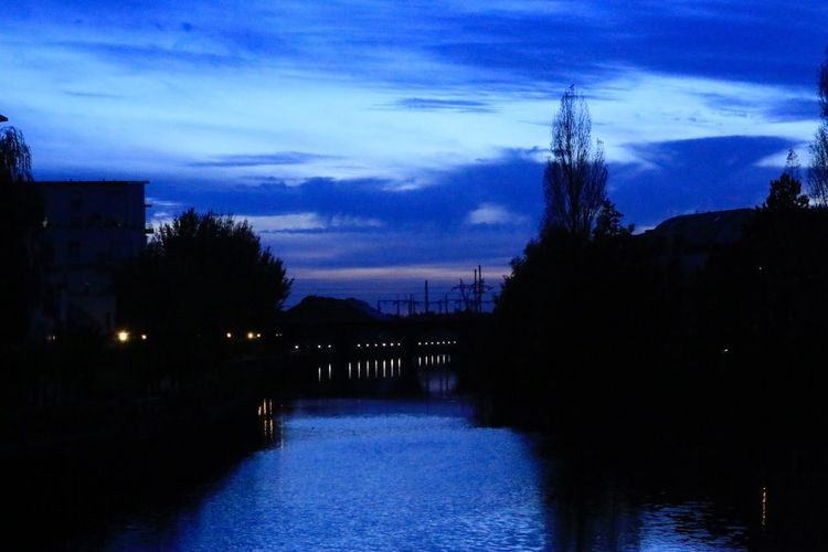 Second Acts Water Blue Night First Eyeem Photo
