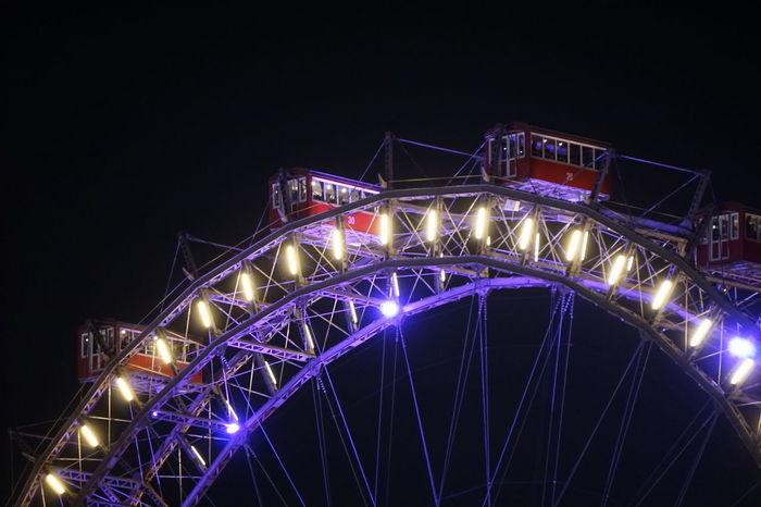 Prater Prater ❤️ Prater/Vienna Vienna Vienna Austria Vienna, Austria Architecture Bridge - Man Made Structure Building Exterior Built Structure Illuminated Lighting Equipment Low Angle View Night No People Outdoors Praterstern Sky Vienna_city
