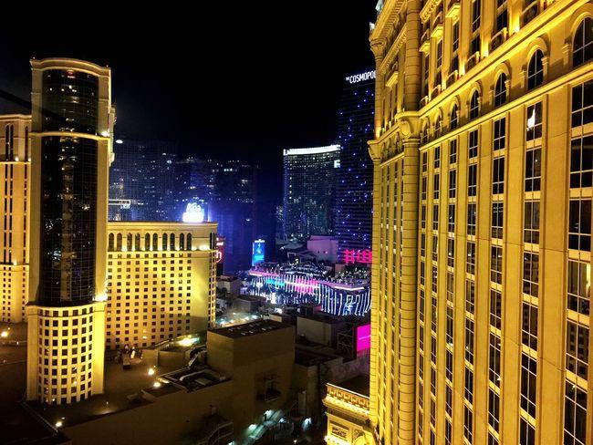 Las Vegas Night Casino Nightphotography París Hotel-Las Vegas, Nevada