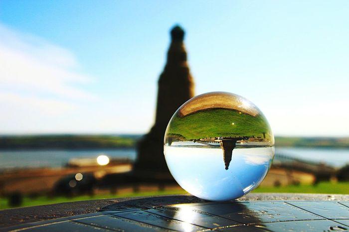 Dundee Scotland Crystalball Landmark Lawhill Landscape Original Photography
