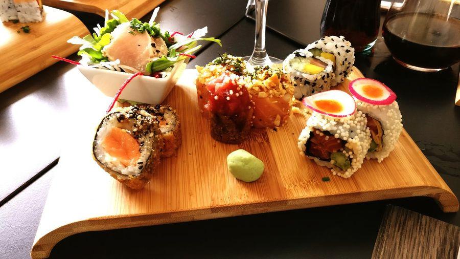 Subenshi Sushi Time Sushi! Food Ready-to-eat Freshness Food Styling Foodphotography Aveiro 🎈👻