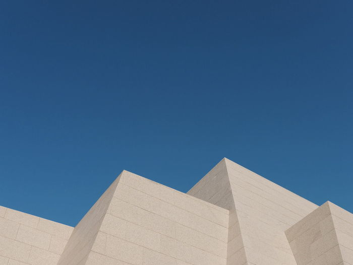 Pyramid Triangle Shape Geometric Shape Architecture Travel Ancient Sunny Clear Sky Built Structure Day Outdoors Blue No People Sky Hoge Kempen Connecterra Maasmechelen The Architect - 2018 EyeEm Awards