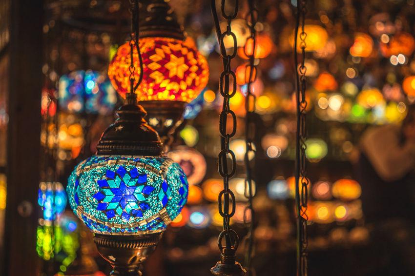 Decoration Glass Lamp Shade Glowing Illuminated Lamp Lamps Light London Market Winterwonderland