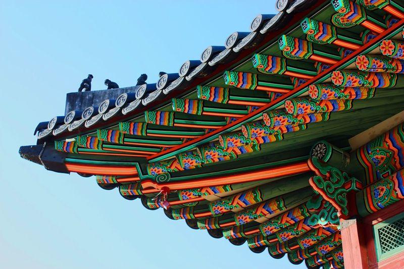 [ Seoul Serie 5 ] Gyeongbokgung means Resplendent Happiness Palace. Since 1934. Architecture Architectural Detail Vivid Colours  Colors Colorful Amazing Architecture Historical Building Monuments Seoul Korea Neighborhood Map