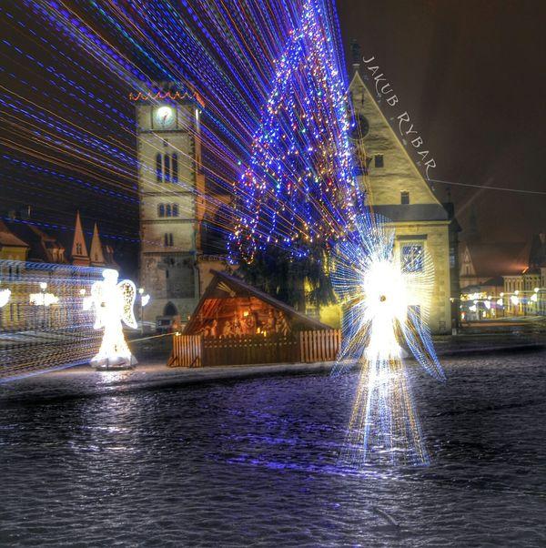 Bardejov Nightcall Christmas Lights Christmas Tree I wish you merry chrismas , special thanks to my followers .
