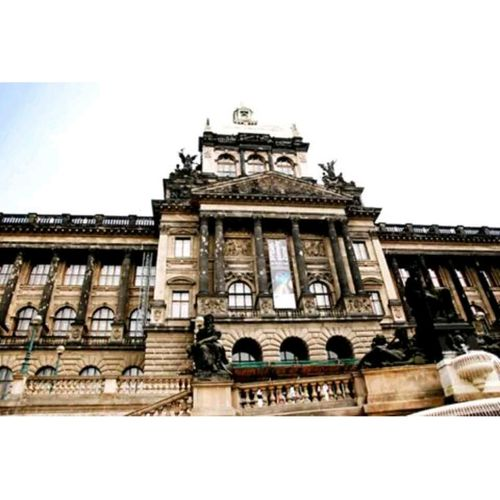 The National Museum of Prague .. Before reconstruction Prague Museum Tagsforlikes