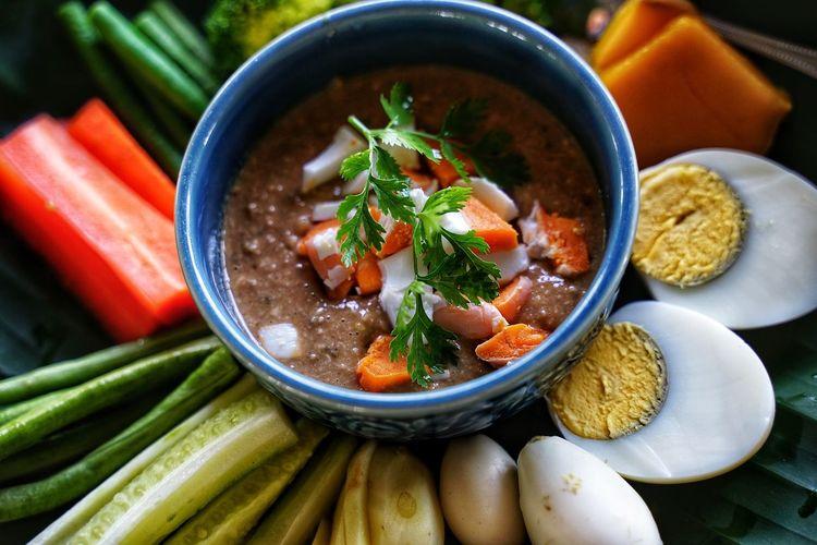 Boiled Egg Vegetable Soup Soup Bowl Korean Food City Soup Bowl Close-up Food And Drink Asian Food Thai Food
