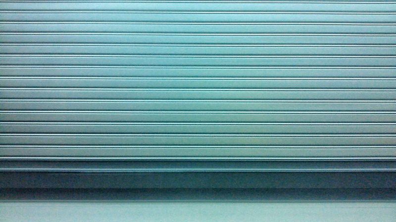 Blue Backgrounds Pattern Full Frame No People Textured  Corrugated Iron In A Row Abstract Architecture Close-up Built Structure Corrugated Indoors  LINE Day