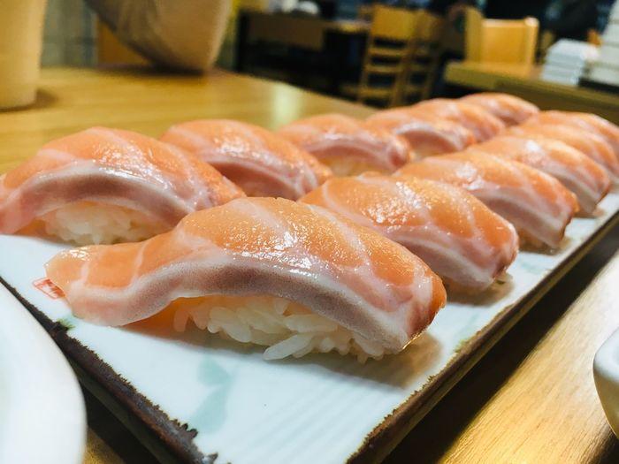 Salmon Sushi, I