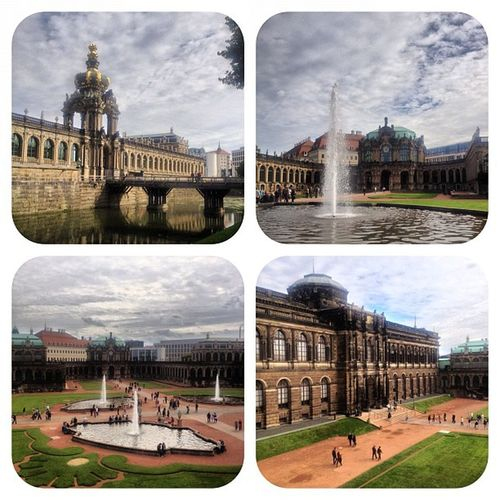 #zwinger #dresden #germany Instagood Zwinger Clouds Sky Germany Dresden Iphoneonly