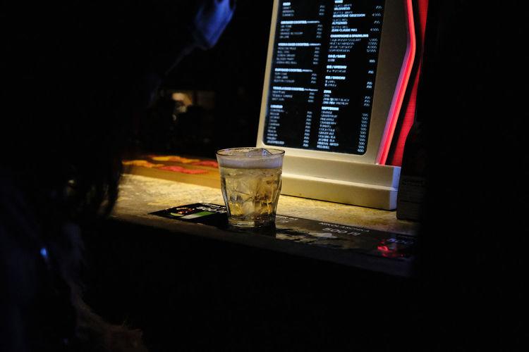 Dark Darktone Nightphotography Shadows & Lights Alcohol Bar Black Contrast darkness and light Drink Drinking Glass Filmic Filmic Photography Glass Indoor Photography Indoors  Midnight Night Nightlife Shadow